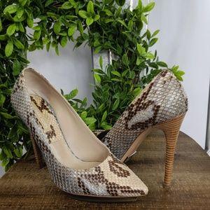 41a93d91e34e Women s Michael Kors Snakeskin Heels on Poshmark